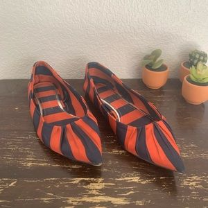 Zara | Basic Collection pointed toe flats 37